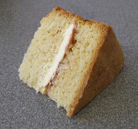 Plain Sponge Slice